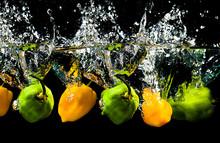 Fruit Water Splash Creative Im...