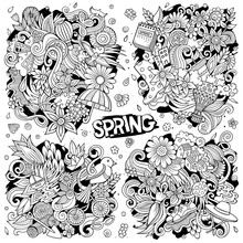 Set Of Spring Combinations Of ...