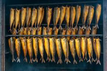 Fresh Smoked Mackerel Ready To Eat / Delicious Smoked Fish  G