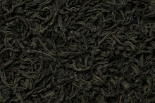 Black Large-leaf Tea As A Back...