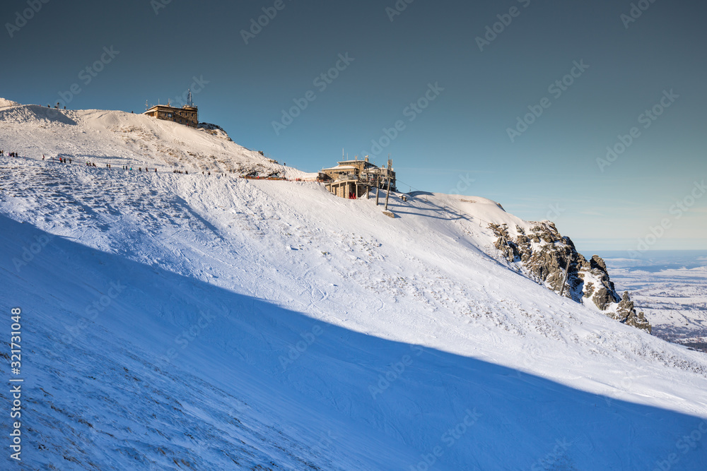 Winter mountain in Poland from Tatras - Kasprowy Wierch