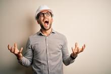 Young Architect Man Wearing Bu...
