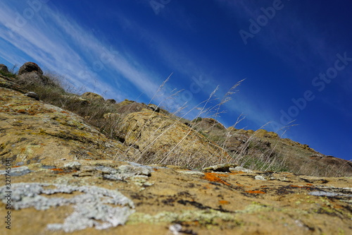 rocks in mountains