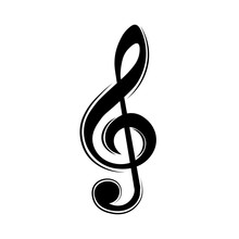 Music Note, Treble Clef, Key, ...