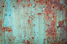Texture Of Rusty Metal With Ri...