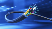 Connection Of Optical Fiber Ca...