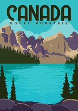 Canada Vector Illustration Background