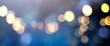 Leinwandbild Motiv abstract blur  bokeh light background festive colorful banner bokeh concept
