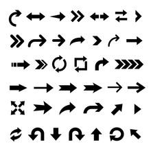 Arrow Icon Big Set Of Vector F...