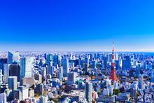 東京 都市風景 風景...