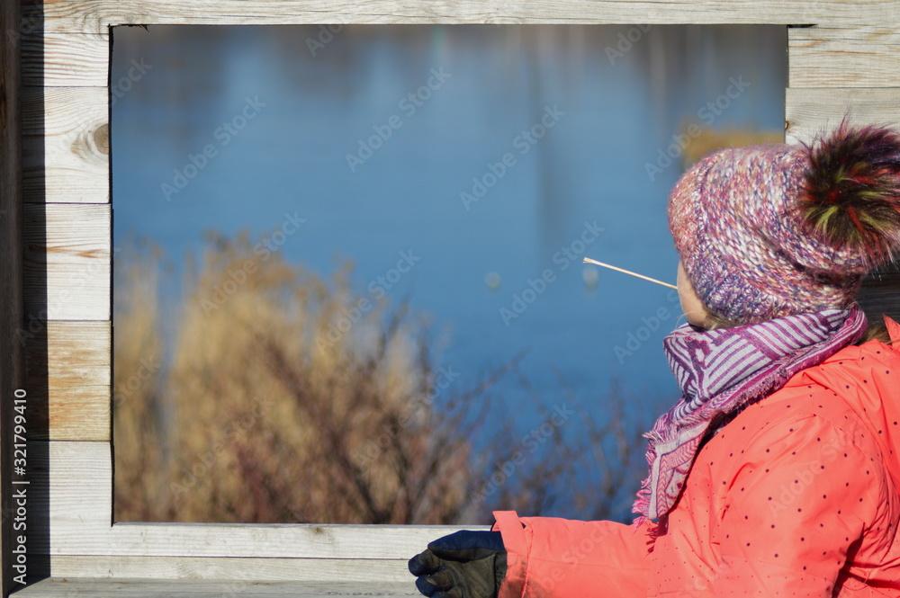 Fototapeta okno na świat