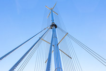 The Mast Is Stainless Steel An...
