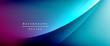 Wave liquid style lines with shadows and light on gradient background. Trendy simple fluid color gradient abstract background with dynamic straight shadow line effect