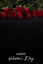 Valentine Day Layout. Red Rose...