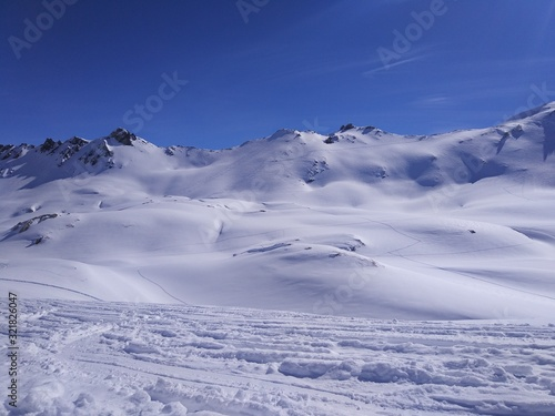 Fototapety, obrazy: mountains in winter