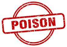 Poison Stamp. Poison Round Vin...