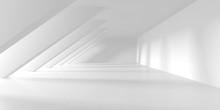 Futuristic White Architecture ...