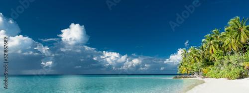 Fotografia tropical beach panorama