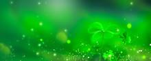 St. Patrick's Day Green Backgr...