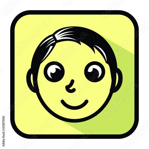 icon app playfull modern logo design Canvas-taulu