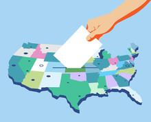 Giorno Delle Elezioni In Ameri...