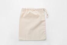 Empty Cotton Eco Bag Isolated On White