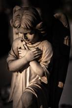 Praying Sweet Angel Figurine.