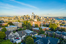 Aerial Photo Of The Seattle Fr...