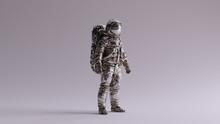 Astronaut Silver Spaceman Astr...