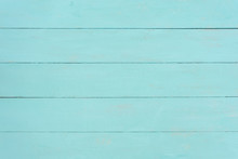 Turquoise Wood Painted Backgro...