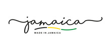 Made In Jamaica Handwritten Ca...