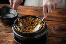 Mixing Korean Famouse Hot Ston...