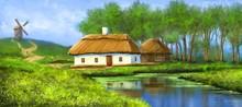 Digital Watercolor Paintings R...