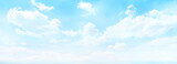 blue colored wide sky and gradient and white cloud texture and striped abstract dirty