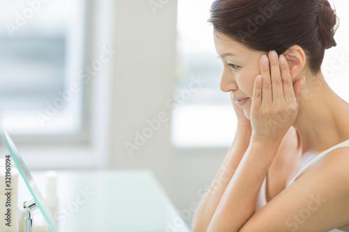 Obraz ミドル女性 美容 - fototapety do salonu