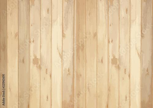 Fotomural 木目 背景 板 フレーム  枠 ベクター 素材