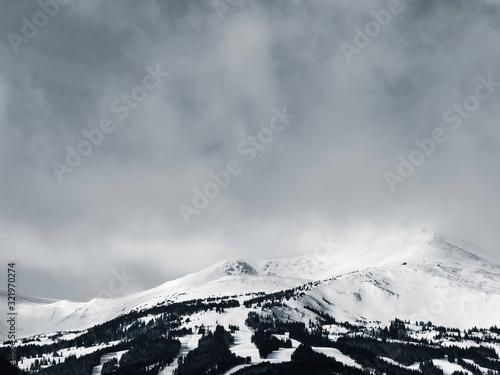 Mountain Peaks near Breckenridge, Colorado