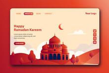 Happy Ramadan Kareem Landing P...