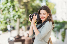 Woman Professional Photographe...