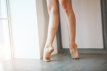 Legs Of Young Skinny Attractiv...