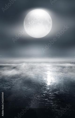 futurystyczna-pusta-nocna-scena-pusty