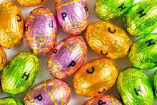 Oeufs En Chocolat Pour Pâques...
