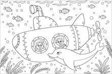 Coloring Book For Children. Ha...