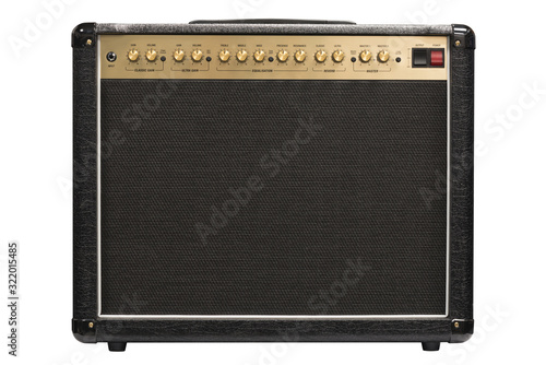 Fotografia Electric guitar amplifier