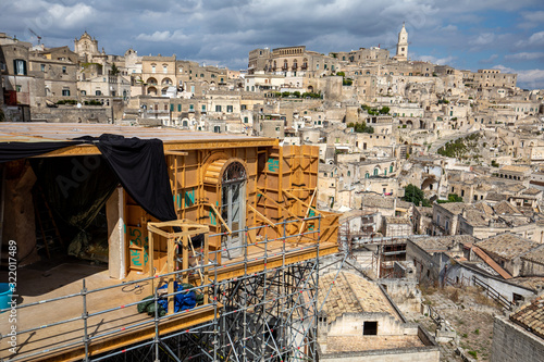 фотография Bond apartment from the movie  No Time to Die in Sassi, Matera, Italy