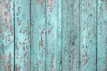 Crackled Paint On Old Light Bl...