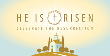 Vector Religious Banner Or Gre...