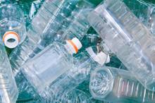 Many Empty Plastic Bottles In ...