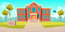 School Building Educational In...