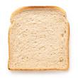 canvas print picture - Slice of white bread.